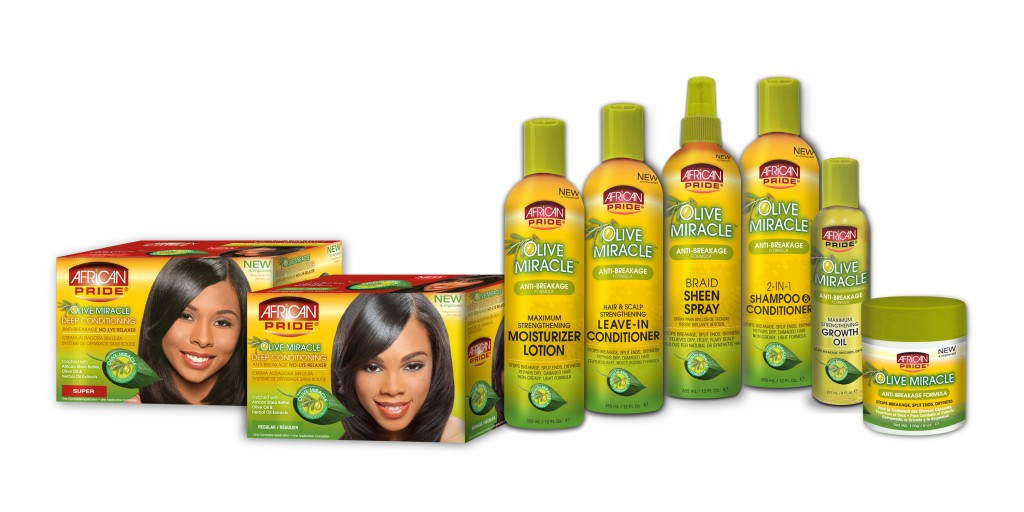 African Pride Olive Miracle Collection