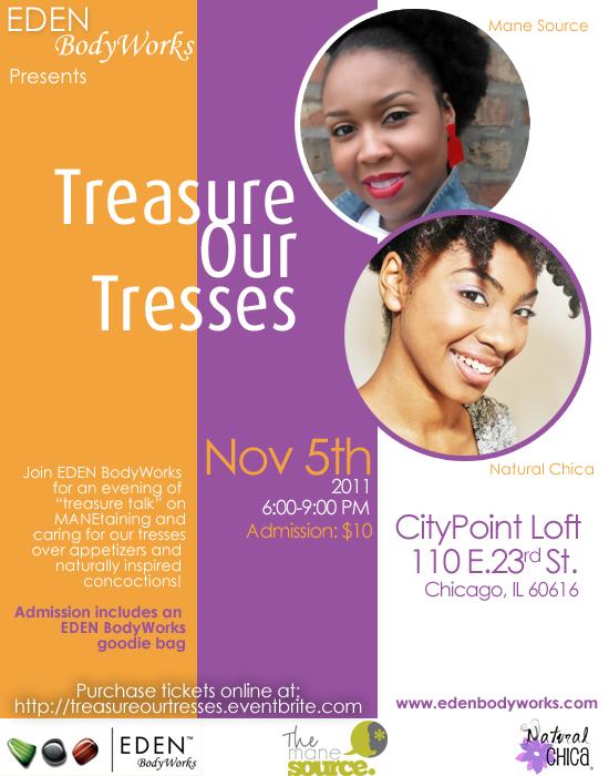Treasure Our Tresses Invite