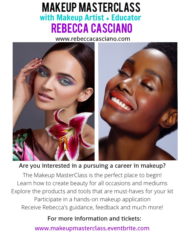 Makeup Masterclass with Rebecca Casciano: 6.3.13 – In Her Shoes