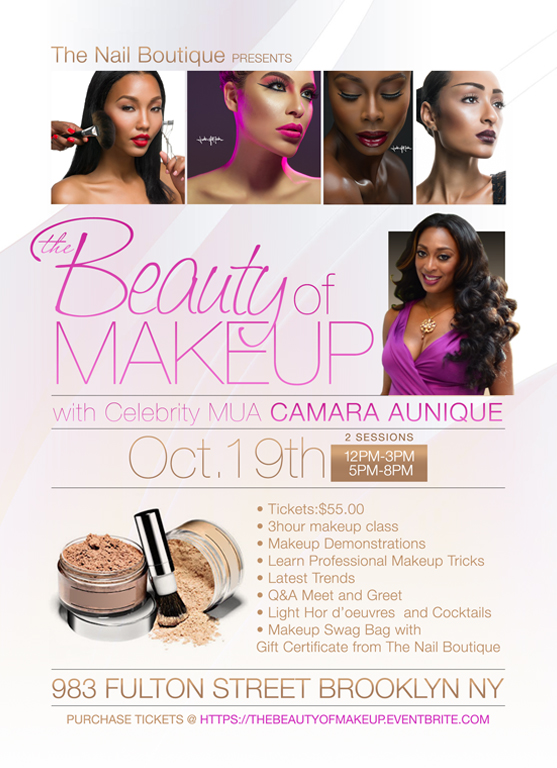 Camara Makeup Workshop
