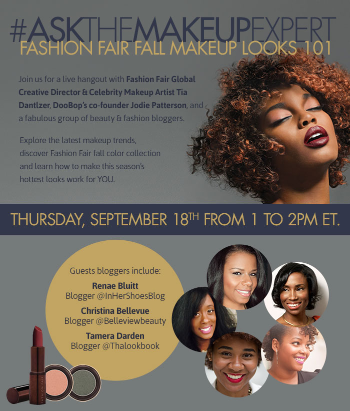 Fashion Fair Google Hangout Invite