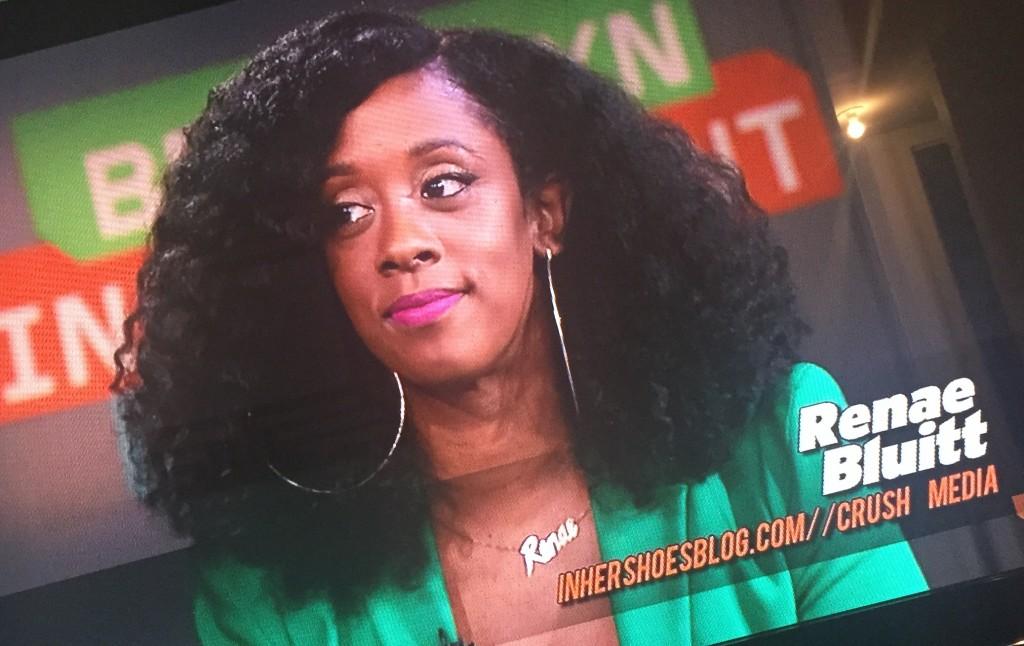 Renae on TV Screen Grab