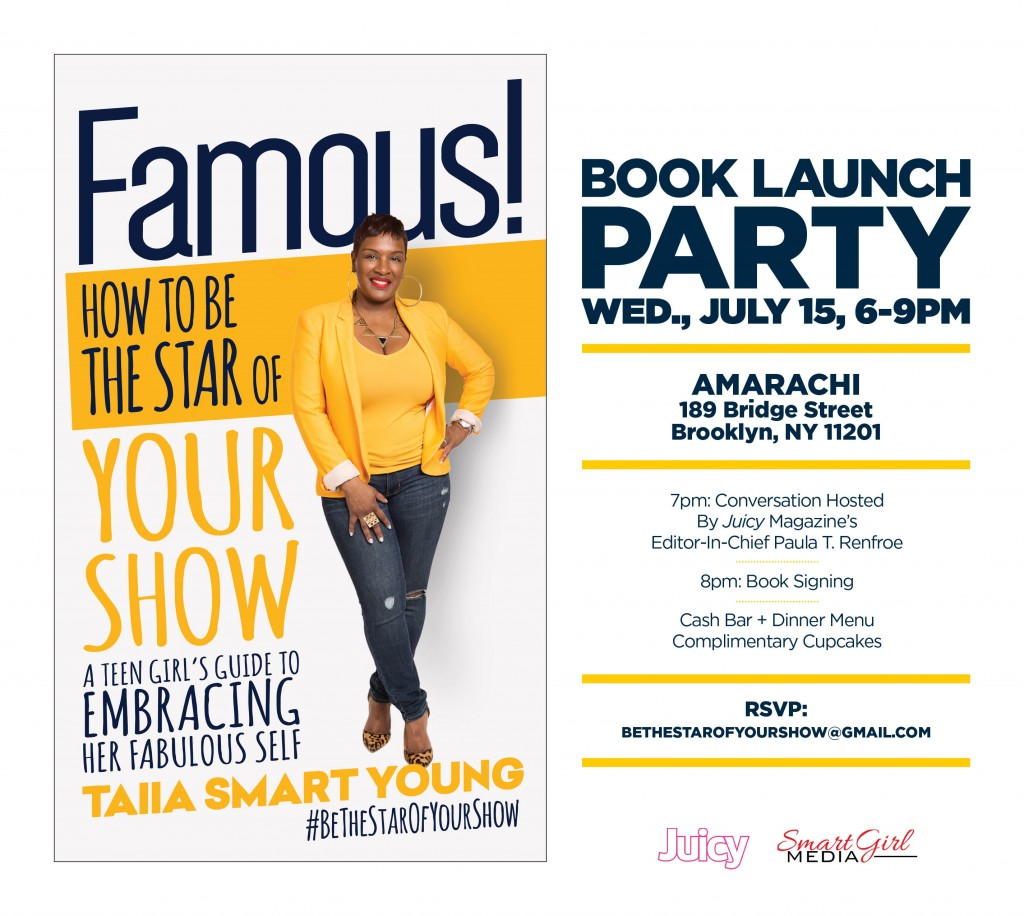 Taiia Book Signing Invite