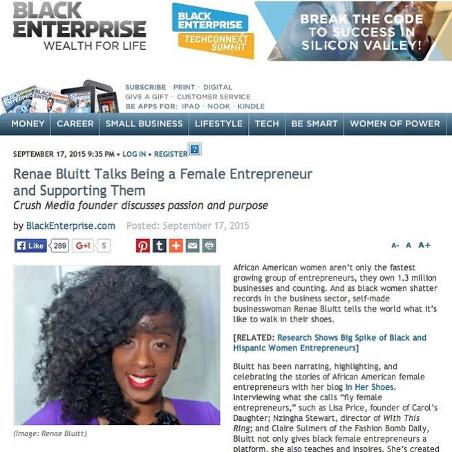 Black Enterprise Screen Shot