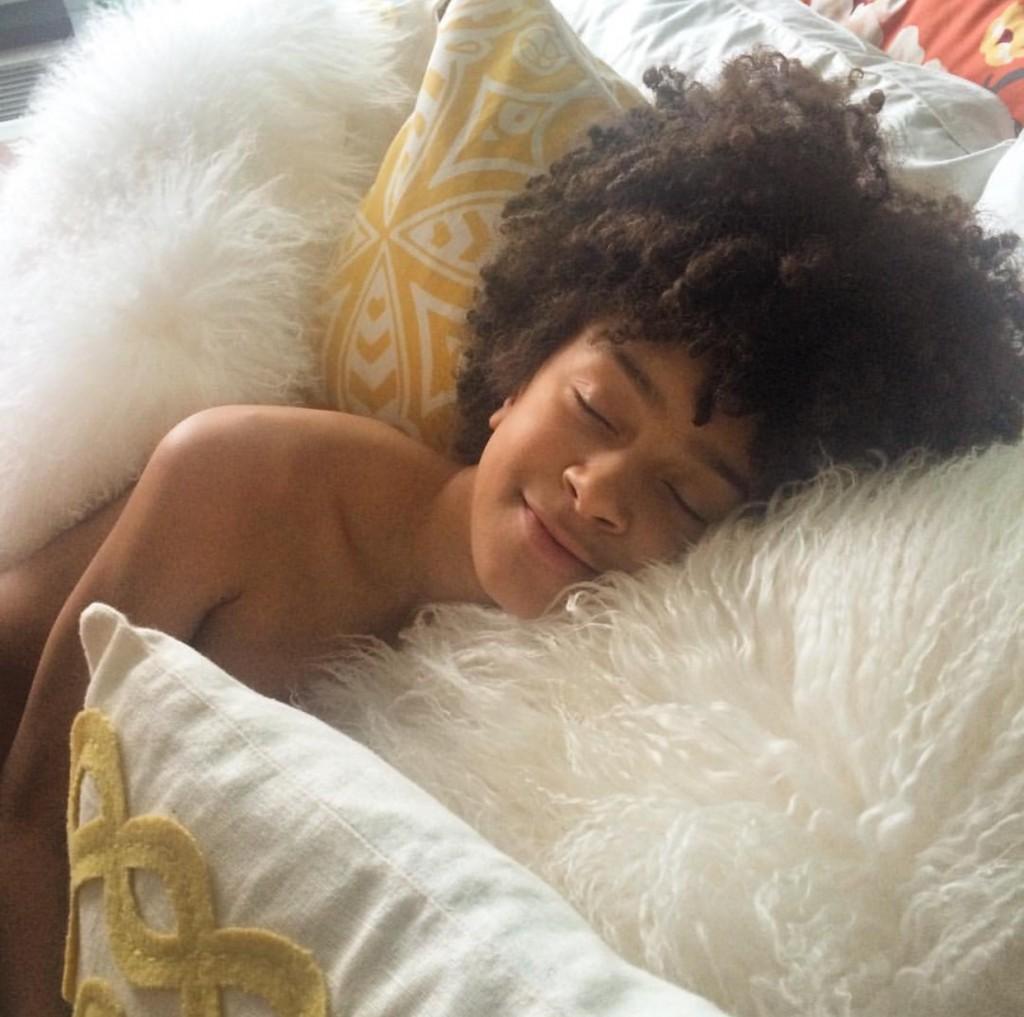 Latham pillow resting