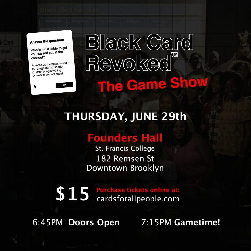 Black Card Revoked Invite